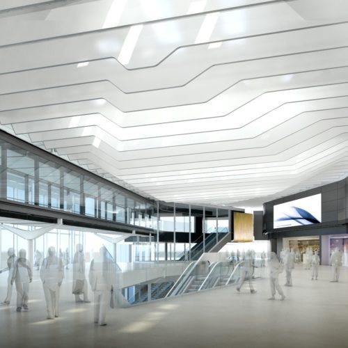 Heathrow Airport Terminal 2B Fit-out